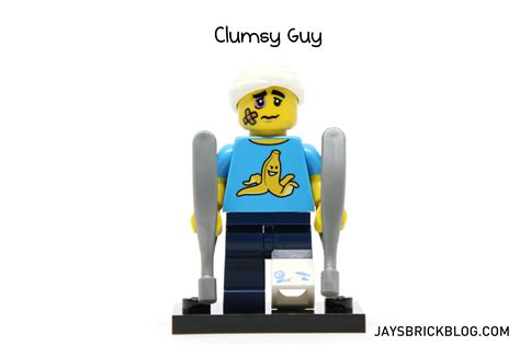 Clumsy Lego Minifigure Series 15 Original Review Lego Minifigures Series 15