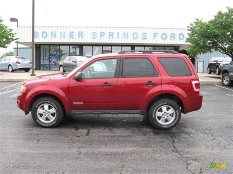 2008 Ford Escape Xlt by 2008 Redfire Metallic Ford Escape Xlt V6 4wd 12136209