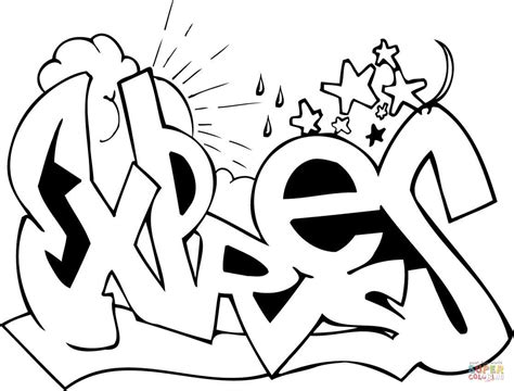 graffiti coloring pages to print printable graffiti coloring pages coloring home
