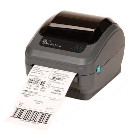 Buy Zebra GK420d - Compact Direct Thermal Desktop Label ...