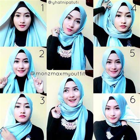 tutorial hijab untuk pesta perkawinan foto hijab terbaru gaya modern dan modis untuk hijabers