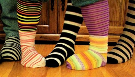 london mum encourages people  rock odd socks  world  syndrome day south west londoner