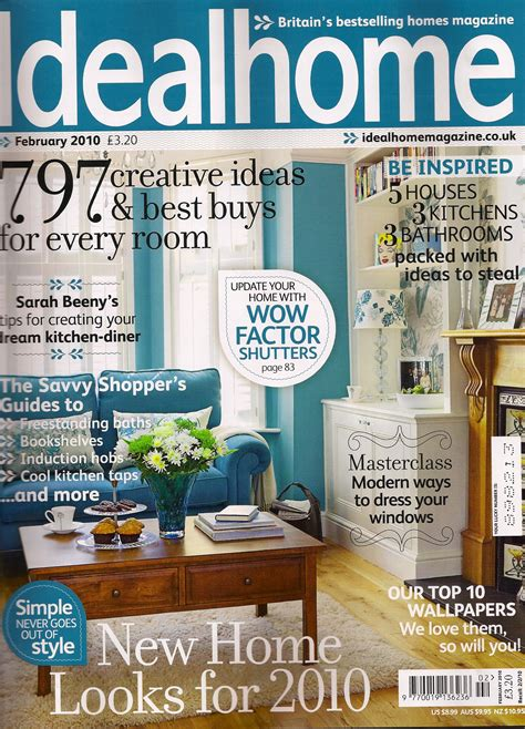 household magazines property ideal home feb 2010 with a moregeous designed