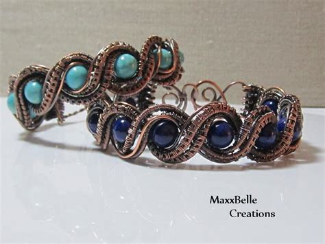 how to make wire weave jewelry twisted wire weave wrap bracelet by margieaz craftsy