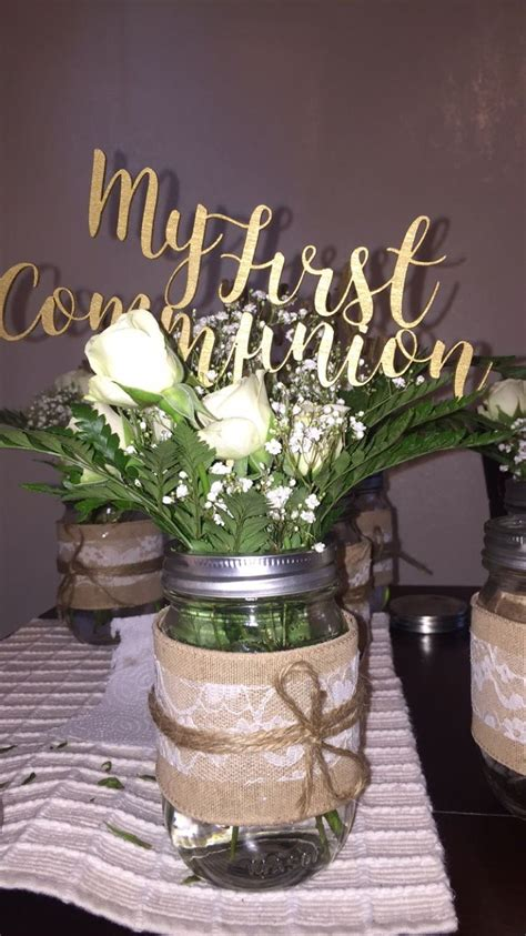 Communion Decorations by Diy Communion Centerpieces Diy