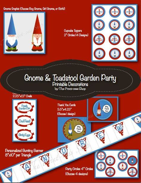 gnome personalization themes 1000 images about gnome party theme on pinterest garden
