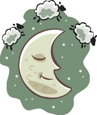 Counting Sheep Clipart waking moon clipart cliparthut free clipart