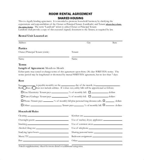 23 Simple Contract Template And Easy Tips For Your Simpler Life Lifetime Lease Agreement Template