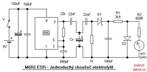 un capacitor un resistor y una bateria estan conectados en serie esr meter electrolytic capacitor tester
