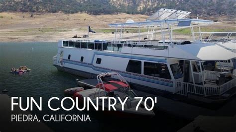 project boats for sale california fun country 70 x 16 houseboat for sale in piedra ca for