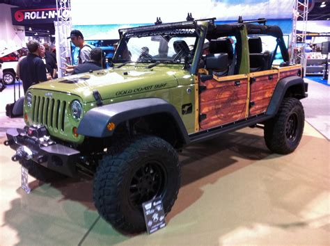 Coolest Jeep Accessories Jeep Wrangler Woodie Global High Performance