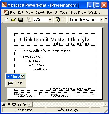 save slide master as template powerpoint tutorials