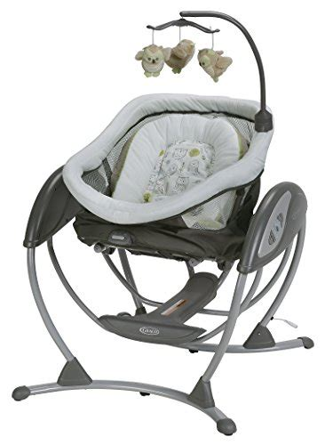 sleeper swing graco dreamglider gliding swing and sleeper percy