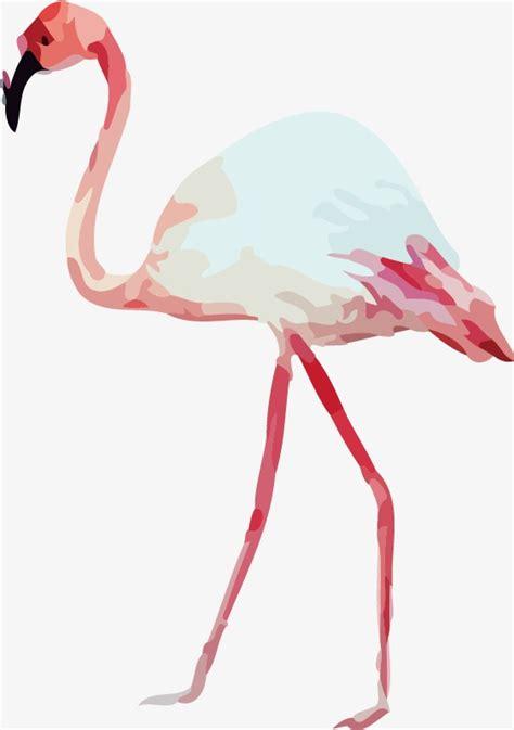watercolor flamingos pattern vector free download drawing flamingos vector seamless background watercolor