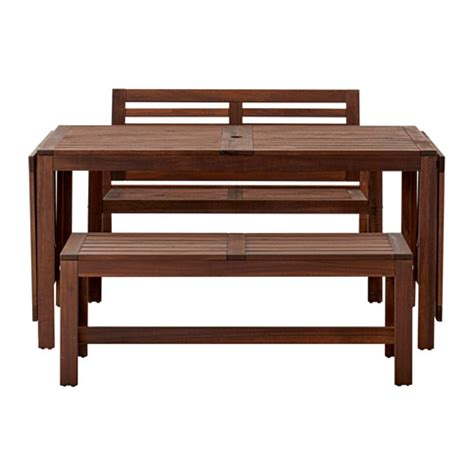 Dining Table Online Uae 196 Pplar 214 Table 2 Benches Outdoor Ikea