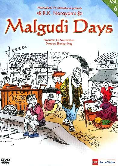 the days of my books r k narayan s malgudi days prashant s blogworld