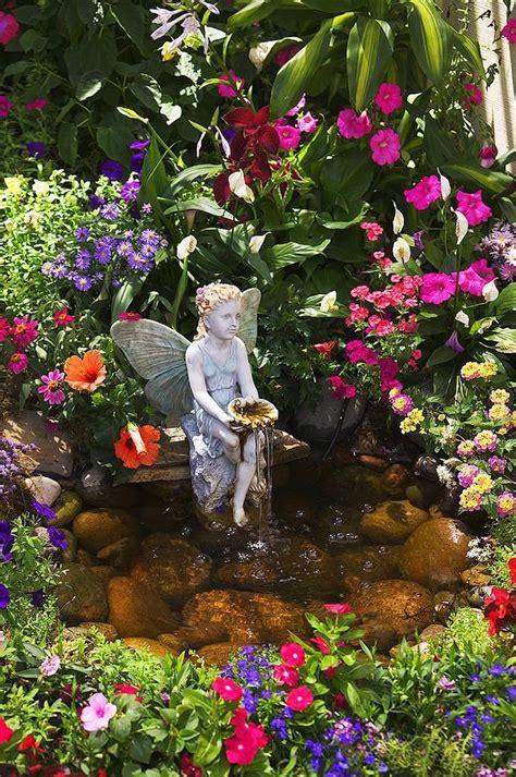 30 Magical Fairy Gardens Garden Pinterest Magical Flower Garden