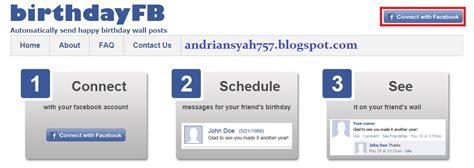 cara membuat kartu ucapan ulang tahun di facebook cara membuat ucapan selamat ulang tahun otomatis di