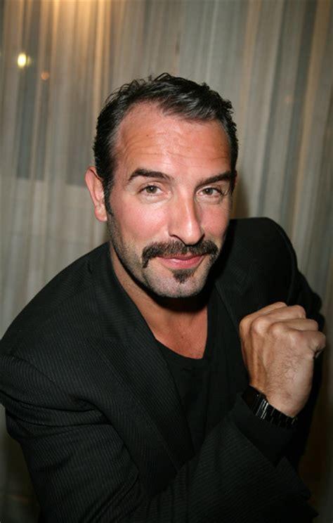 jean dujardin handsome moustache beard jean dujardin men s grooming