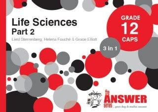 9781920568870 Grade 12 Caps 3 In 1 Life Sciences Part 2 By
