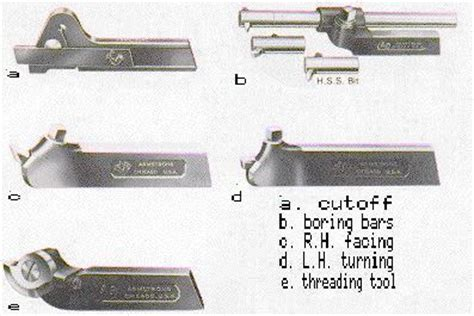 types of tool steel cutting tools for lathes turning the lathe