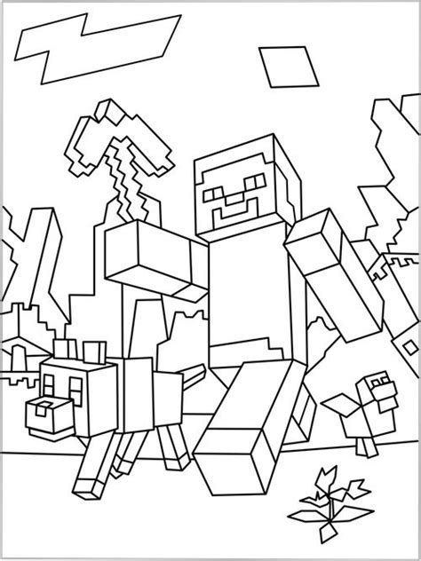 printable minecraft activity sheets printable minecraft world coloring page coloring pages