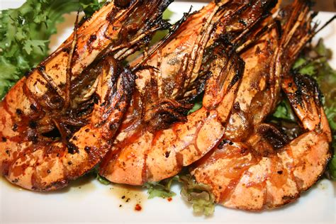 spicy grilled shrimp recipe dishmaps