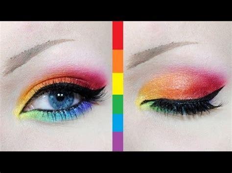 makeup tutorial queer rainbow makeup tutorial gay pride youtube