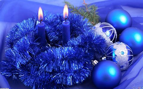 christmas blue ornaments wallpaper 20901 open walls