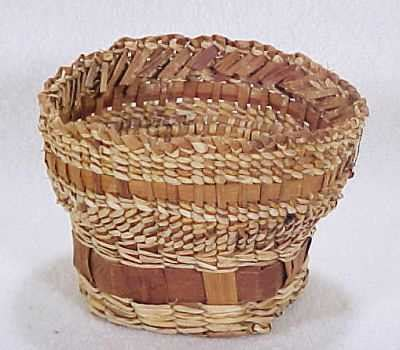 Indian Handmade Crafts - handmade makah indian basket simply baskets