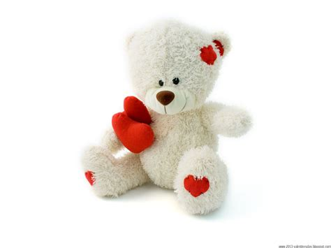 white teddy on s day february 14 wallpapers