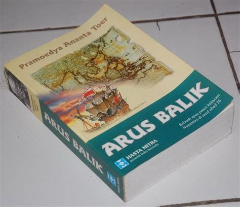 Pramoedya Ananta Toer Paket 4 Buku jual pramoedya ananta toer arus balik di lapak cahaya buku sowink