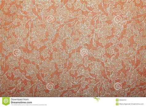 Handmade Graphics - orange floral glitter handmade paper royalty