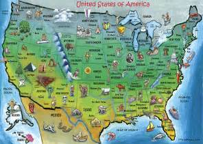 united states landmarks map usa map by kevin middleton royalty free and