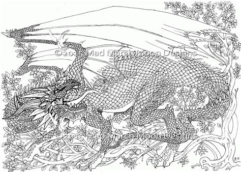 coloring pages for adults dragon realistic dragon coloring pages for adults az coloring pages