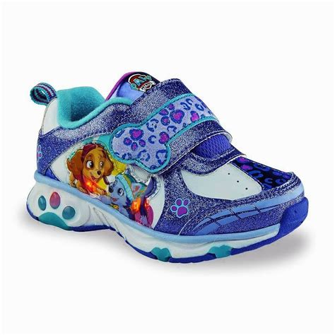 light up shoes size 11 paw patrol skye everest light up sneakers shoes sizes 7