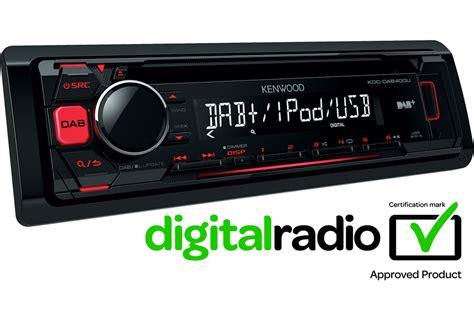 Dab Radio Auto by Ipod Iphone Car Stereo Kdc Dab400u Features Kenwood Uk