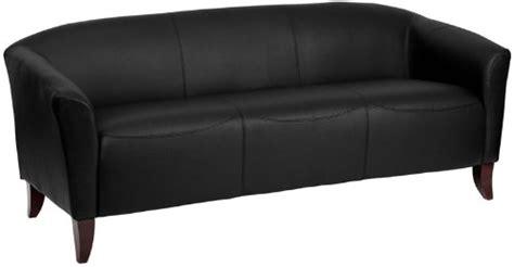 black cherry leather sofa flash furniture 111 3 bk gg hercules imperial series