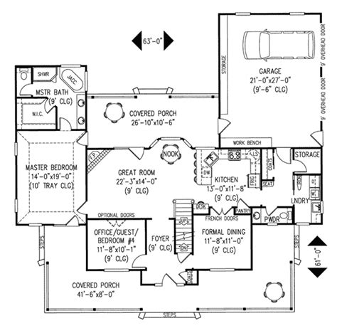 Amish Home Floor Plans | amish hill country farmhouse plan 067d 0011 house plans