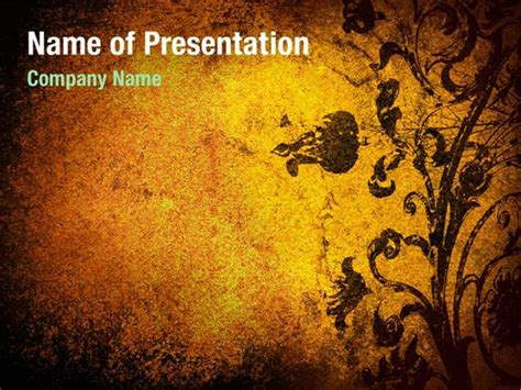 Grunge Abstract Powerpoint Templates Grunge Abstract Powerpoint Backgrounds Templates For Grunge Powerpoint Template