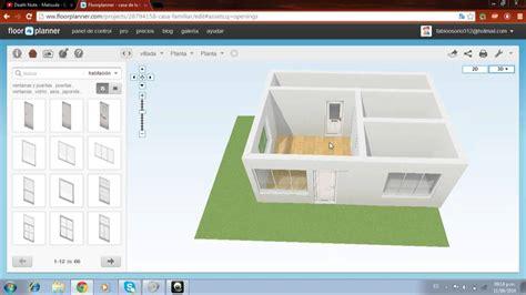 free online floorplanner como manejar floorplanner correctameente y sensillo youtube