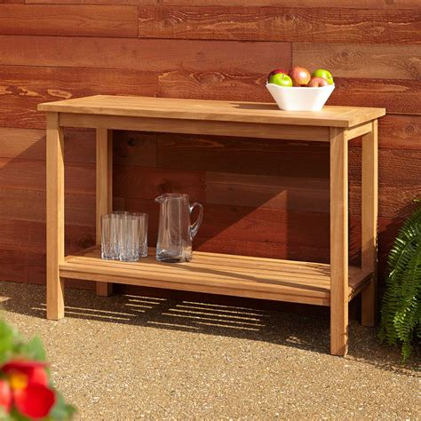 outdoor buffet table signaturehardware com