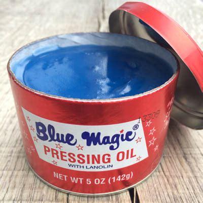 Pomade Magic 1 Blue Magic Pressing 5 Oz
