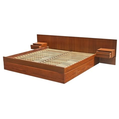 headboard with attached nightstands solid walnut bed headboard with nightstand attached modern