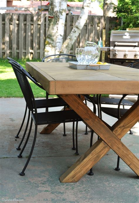 diy outdoor table diy outdoor table outdoor tables and
