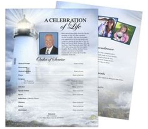 memorial page template 1000 images about cards funeral templates programs on