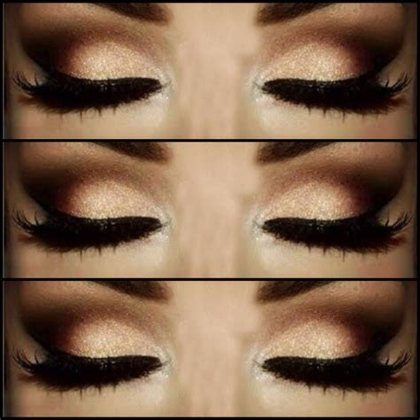 8 Steps To Springs Smoky Eye Look by Black And Gold Also Known As Gelasma Is A Cornish Folk