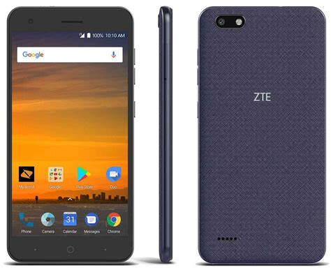 zte blade mobile phone zte blade hits boost mobile with 5 5 inch display