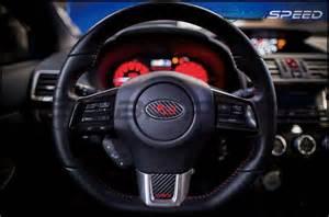 Subaru Badge Overlay 3d Carbon Steering Wheel Emblem Overlay Package 2015