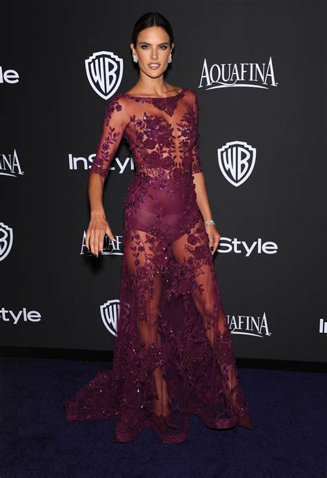 Golden Globes ***** Carpet: Alessandra Ambrosio   Go Fug